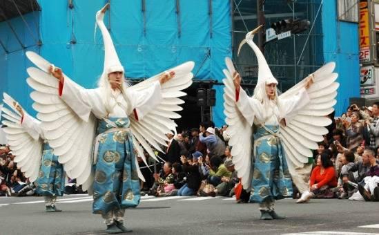 Shirasagi-no-mai, festa della cultura a Tokyo