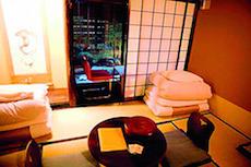 Dormire in un ryokan in giappone