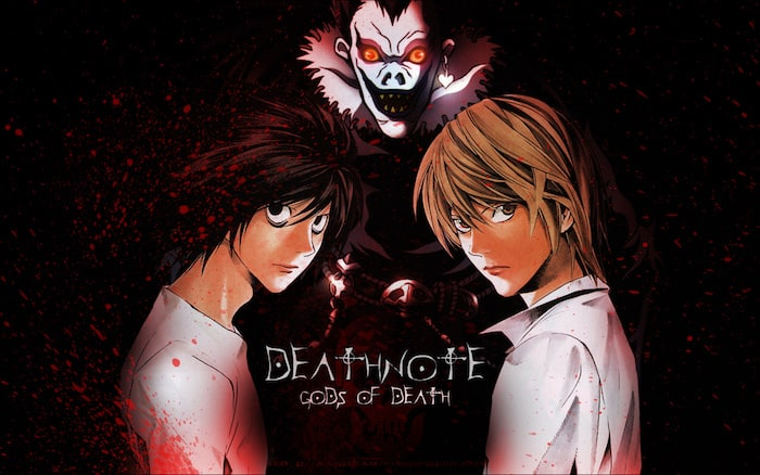 manga e anime death note