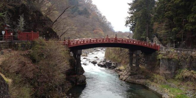 Ponte Shinkyo a Nikko
