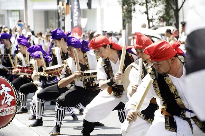 Shinjuku Eisa Matsuri a luglio