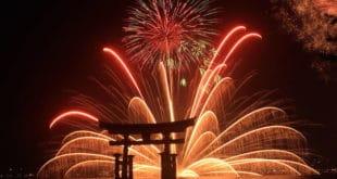 Fuochi d'artificio a Miyajina