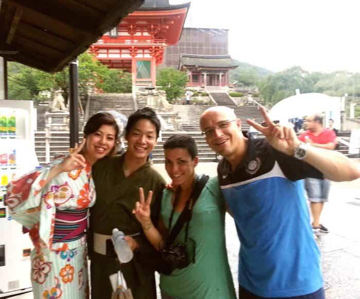 Sara - quelli con la valigia in Giappone