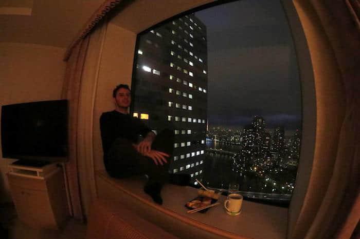 Davide in Giappone