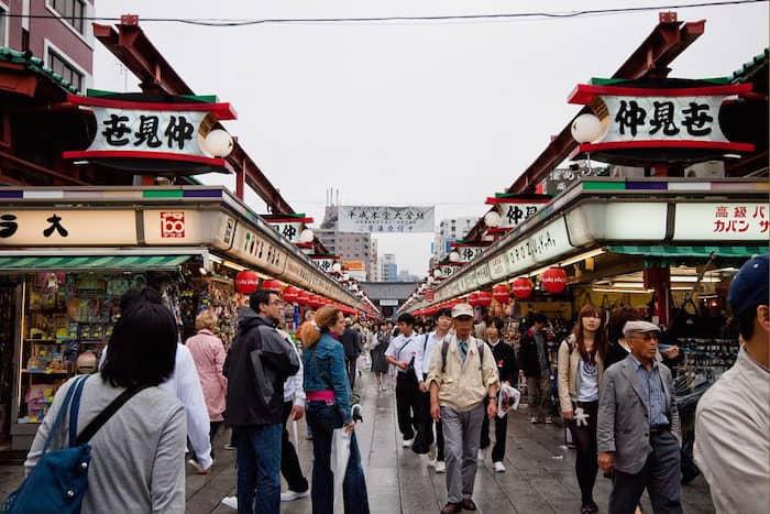 Nakamise dori, la via che porta al Senso-ji