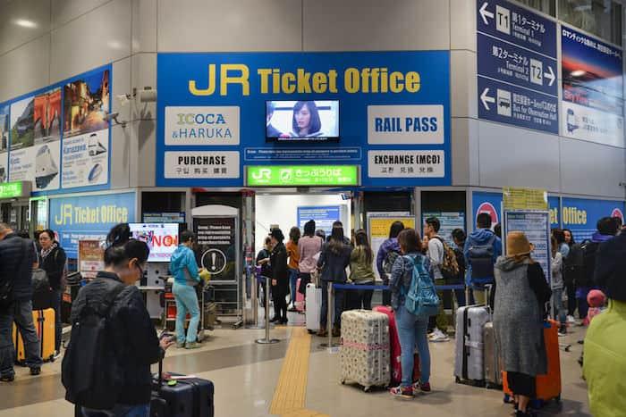 Aeroporto Kansai - Ufficio JR