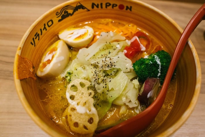 Ristorante di ramen Sora no iro Nippon
