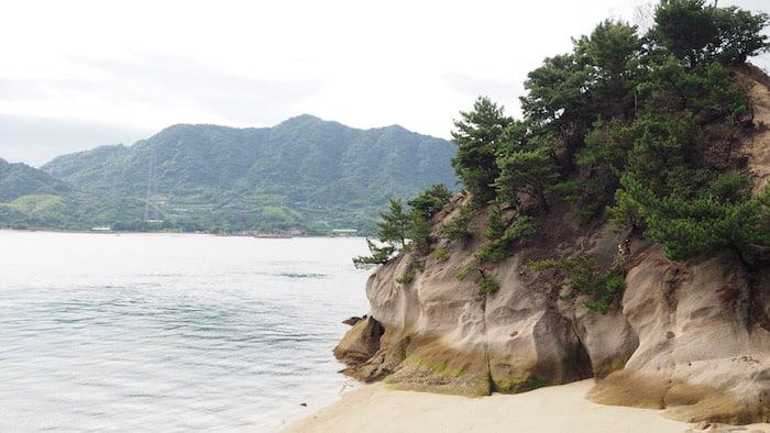 Spiaggia di Okunoshima, Hiroshima