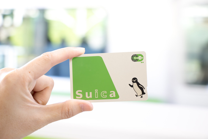 Suica card, Giappone