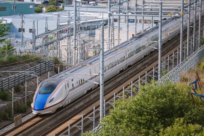 Shinkansen velocità